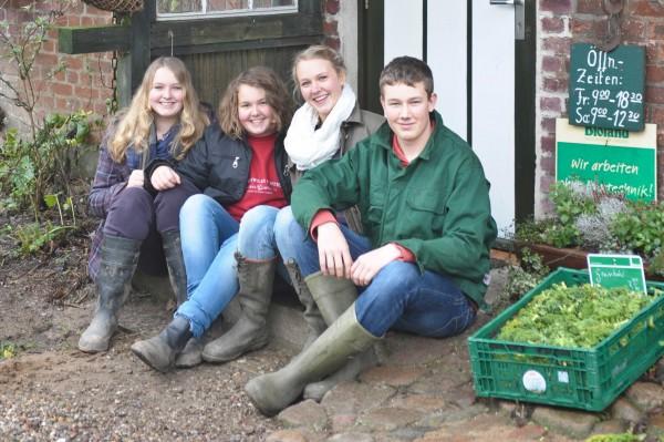 Auguste, Helene, Anna und Ferdinand