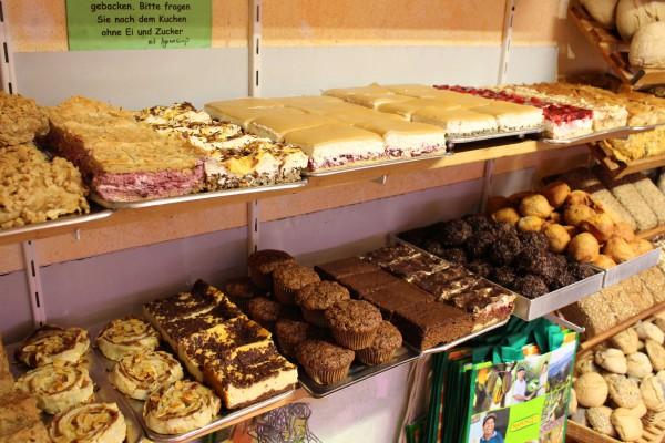 Kuchen aus eigener Fertigung
