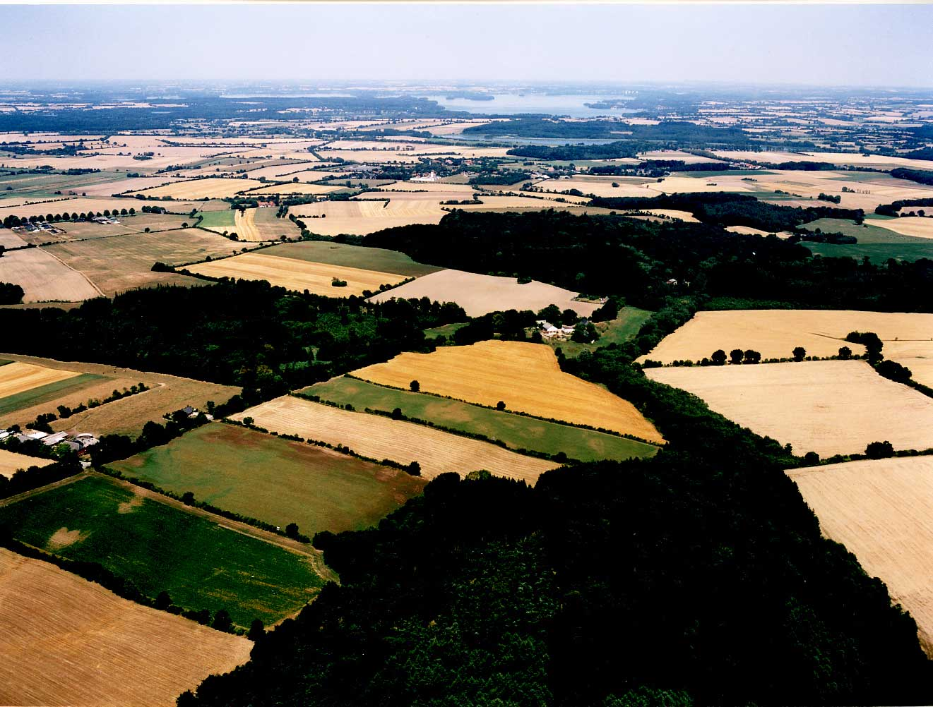 Luftaufnahme Hof Hohlegruft