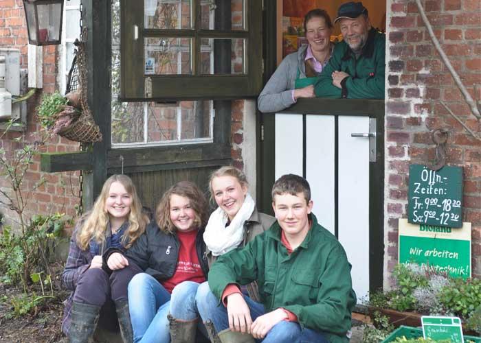 Familie Stoltenberg Hof Hohlegruft